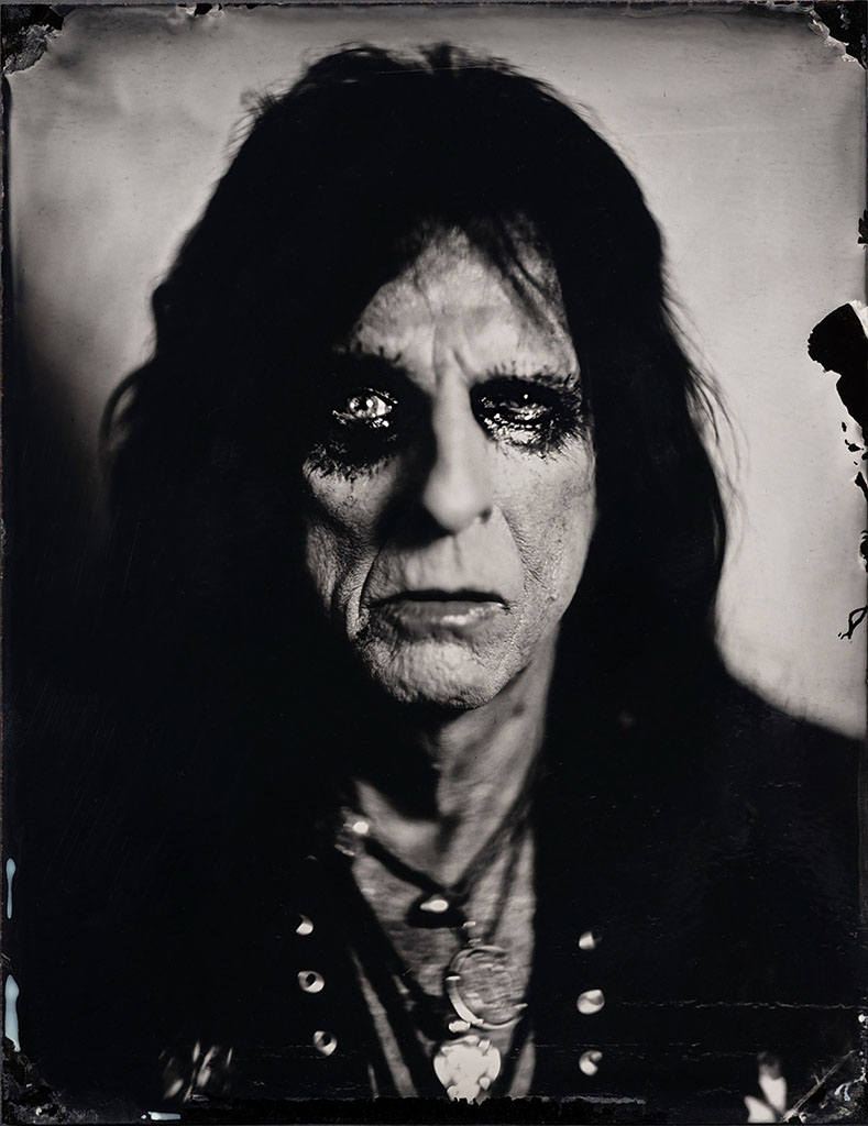 Alice Cooper Studio Portrait by Stefan Sappert