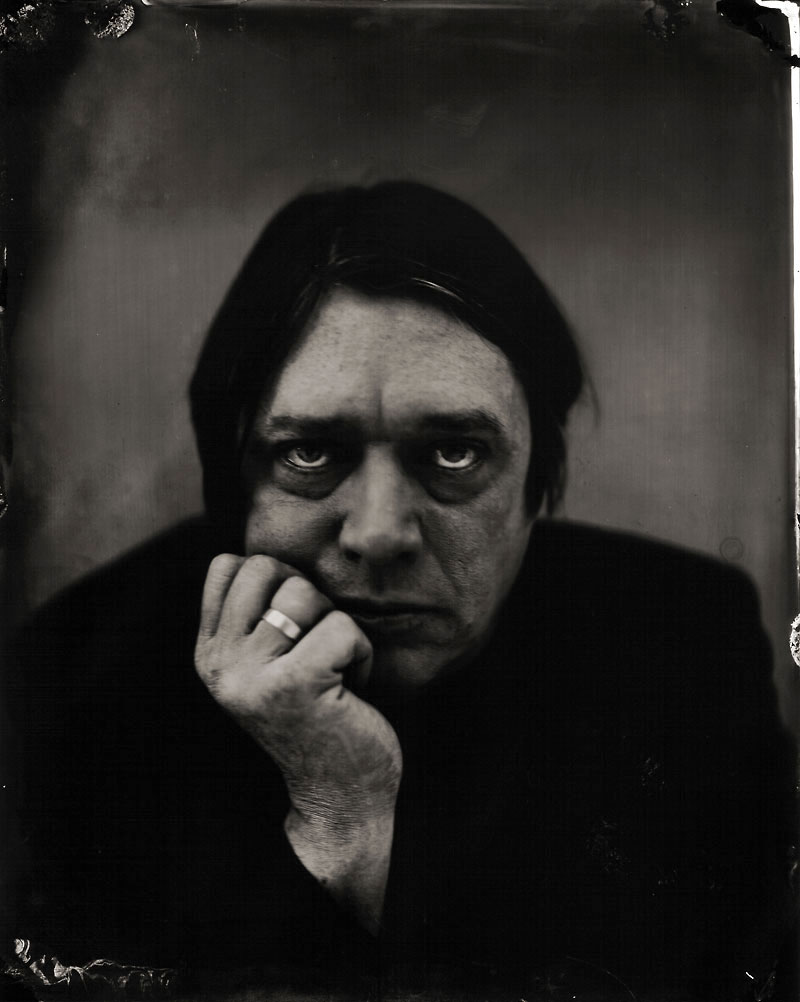 Blixa Bargeld by Stefan Sappert