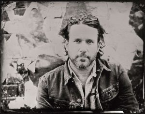 Chuck Ragan of Hot Water Music Portrait by Stefan Sappert
