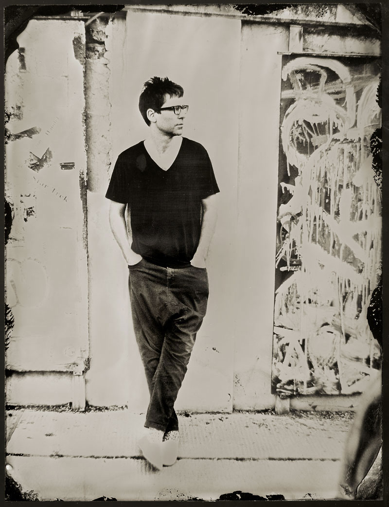 Jamie Lidell Editorial Portrait by Stefan Sappert