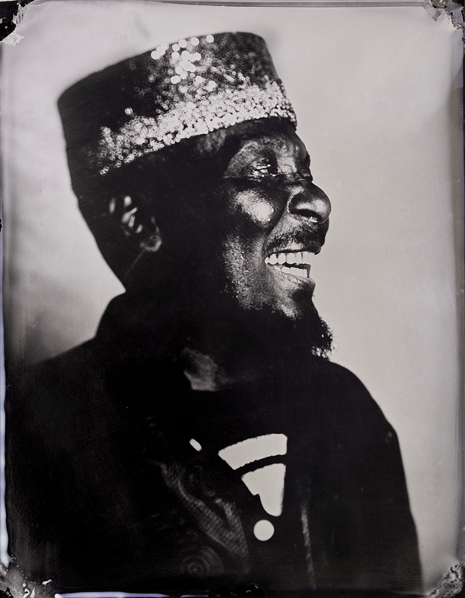 Jimmy Cliff Studio Portrait by Stefan Sappert