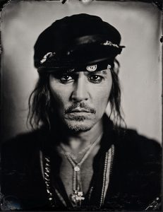 Johnny Depp Portrait by Stefan Sappert