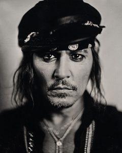 Johnny Depp Portrait by Stefan Sappert