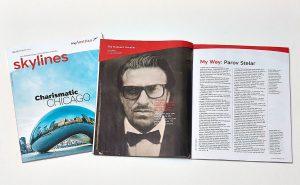 Parov Stelar Portrait for Skylines Magazine Austrian Airlines