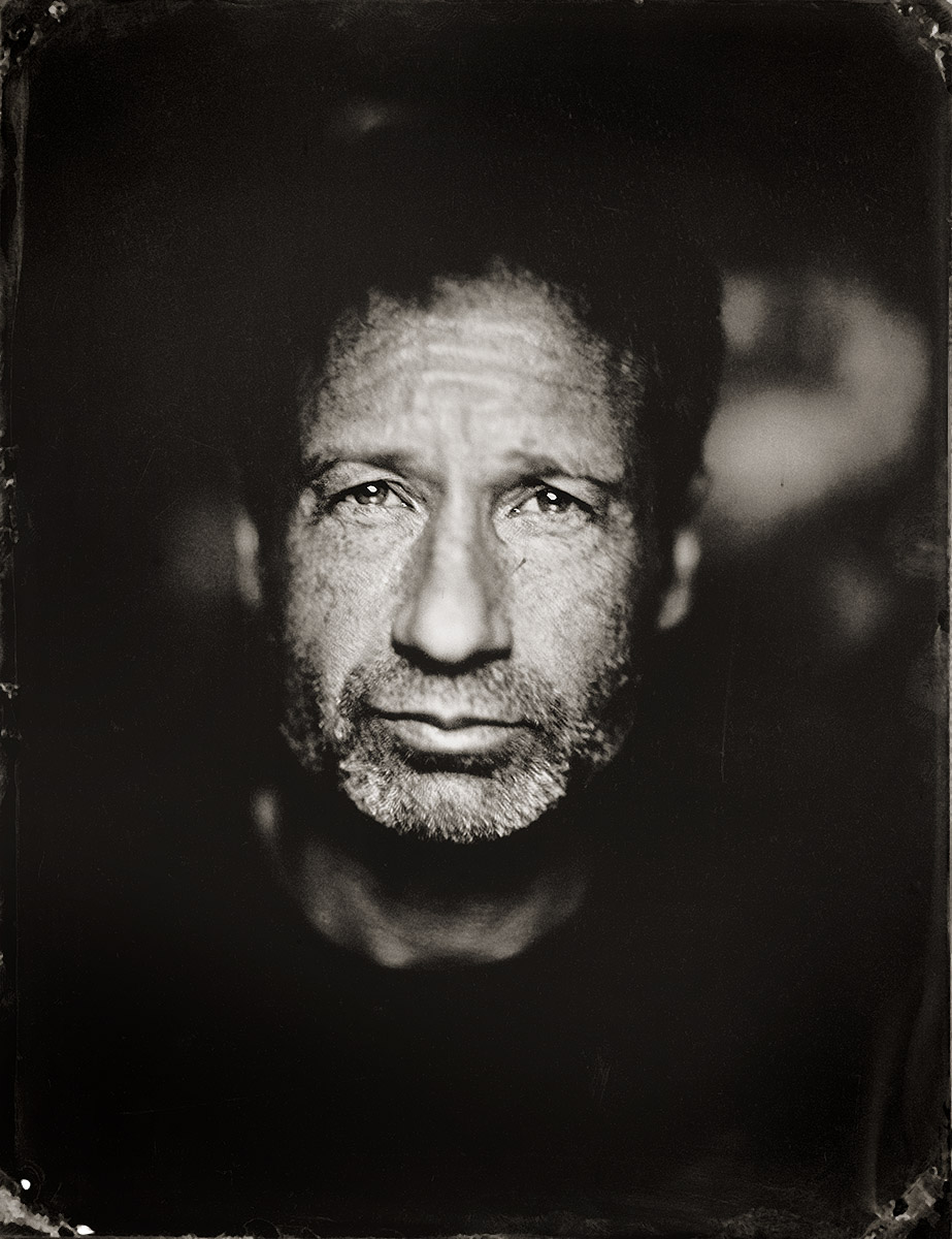 Portrait of actor David Duchovny