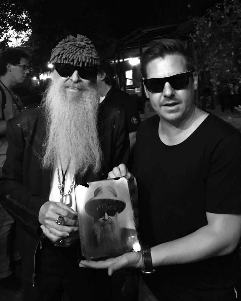 Billy Gibbons ZZ Top Stefan Sappert