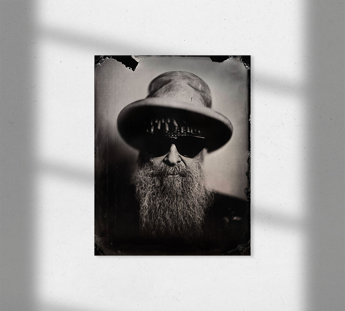 ZZ Top Billy Gibbons Wall